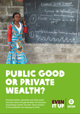 Public Good or Private Wealth report